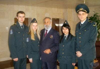 Чилингаров Артур Николаевич со студентами