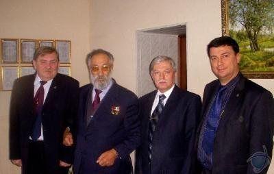 А.Н. Чилингаров с проректорами ЮЗГУ