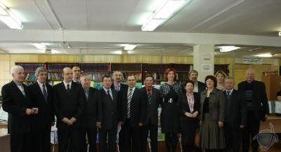 Презентация выставки трудов преподавателей кафедры «Охраны труда и окружающей среды» в научной библиотеке (8)