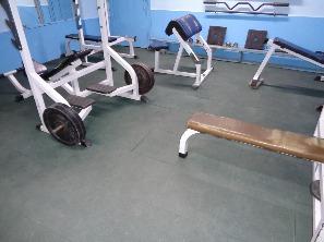 ремонт пола малого зала тяжелой атлетики спорткорпуса